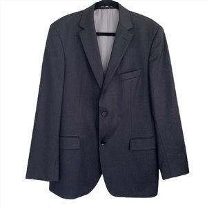 Hugo Boss Sport Coat Blazer Dark Gray Size 42R